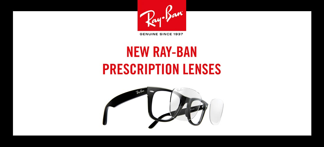 2978a3a0053e8b Ray-Ban presenteert  Prescription brillenglazen